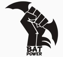 BATMAN POWER - BLACK POWER - BAT POWER Kids Clothes