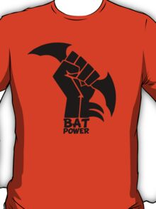 BATMAN POWER - BLACK POWER - BAT POWER T-Shirt