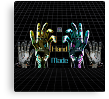 """Hand Made by AI""© Canvas Print"