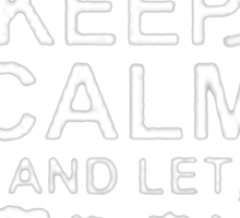 Keep Calm and Let Jose - T - Shirts & Hoodies Sticker
