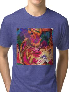 """"""" Let us adduce the silence """"  Tri-blend T-Shirt"""