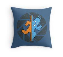 PAMPA PORTAL FINAL FANTASY CACTUAR TESTCHAMBER Throw Pillow