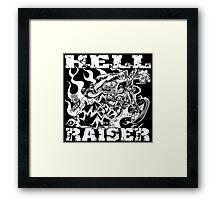 HELL RAISER Framed Print