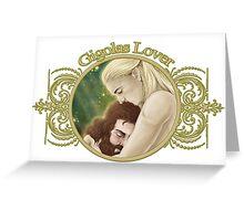 Gigolas Fansticker Greeting Card