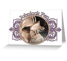 Johnlock Fansticker Greeting Card