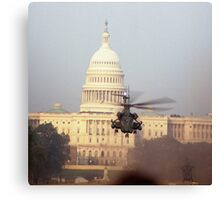 The United States Airforce...The Other Homeland Security Canvas Print