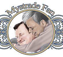 Mystrade Fansticker by Clarice82