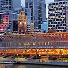 Twilight, Melbourne CBD by Harry Oldmeadow