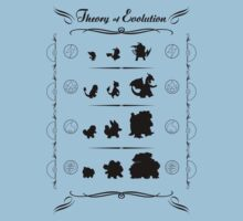 pokemon tableau theory of evolution Darwin by KokoBlacksquare