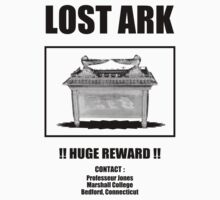 Lost ARK - poster - street art fun - parody indiana jones by KokoBlacksquare