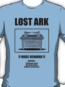 Lost ARK - poster - street art fun - parody indiana jones T-Shirt