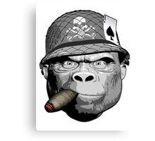 Gorilla Warfare Canvas Print