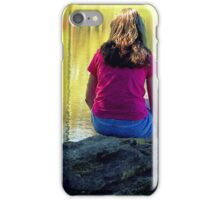 Reflections on the Rock iPhone Case/Skin