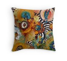 """Energy Abstract"" Throw Pillow"