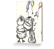 Musica para su Ojos  Greeting Card