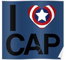 I <3 Cap Poster
