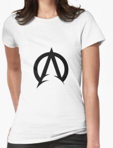 Aquaman Logo Womens Fitted T-Shirt