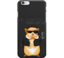 Hamster Terminator Text iPhone Case/Skin