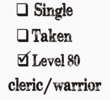 Level 80 Cleric/Warrior by ilcaliffo