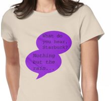 What Do You Hear?  Womens Fitted T-Shirt