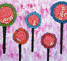 Rainbow Poppies by lilleesa78