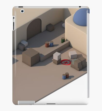 de_dust2 B Site iPad Case/Skin