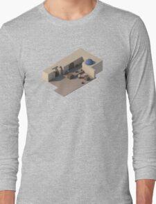 de_dust2 B Site Long Sleeve T-Shirt
