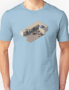 de_dust2 B Site Unisex T-Shirt