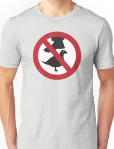 Don't Step on the Birds Unisex T-Shirt