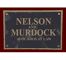 Avocados at Law Photographic Print