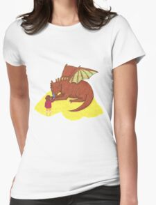 Fire and Sting Womens Fitted T-Shirt