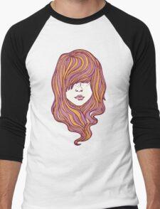 Her hair Men's Baseball ¾ T-Shirt
