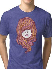 Her hair Tri-blend T-Shirt
