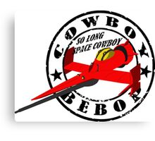 Cowboy Bebop - Swordfish (Old Stamp Style) Canvas Print