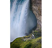 Smallness of Mankind (Niagara Falls) Photographic Print