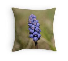 Bluebell of the spring 2 Throw Pillow