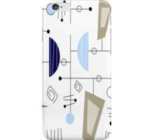 Atomic Era Space Age Inspired iPhone Case/Skin