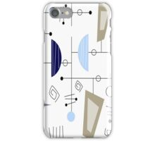 Atomic Era Space Age Inspired iPhone Case/Skin