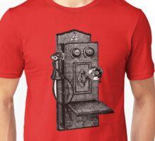 Telephone old school Unisex T-Shirt