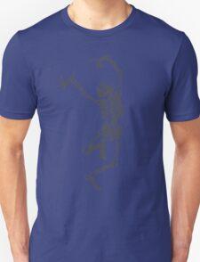 Dancer skeleton Unisex T-Shirt
