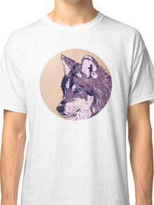 Blue eyed wolf Classic T-Shirt