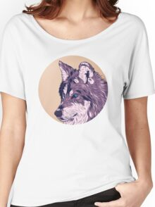 Blue eyed wolf Women's Relaxed Fit T-Shirt