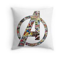 Avengers symbol Throw Pillow