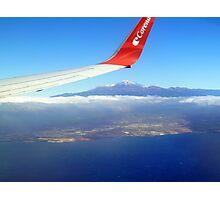 Reaching Tenerife Photographic Print