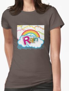 Rain Womens Fitted T-Shirt