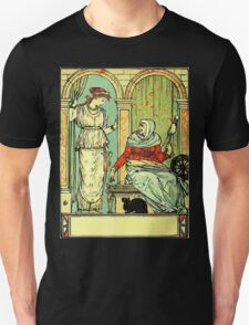 The Sleeping Beauty Picture Book Plate 001 - Long Ago In Ancient Times T-Shirt