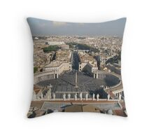 St Peters Basilica, Rome Throw Pillow