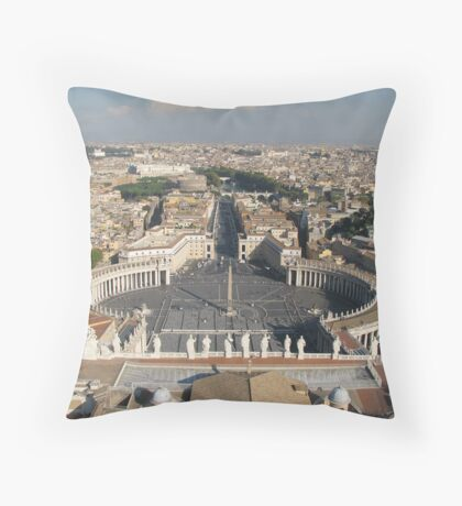 St Peters Basilica, Rome Throw Pillow
