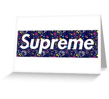 BBCSUPREME Greeting Card