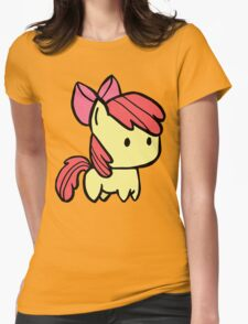Apple bloom Womens Fitted T-Shirt